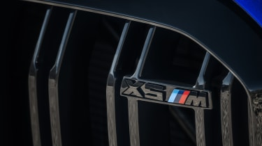 BMW X5 M Competition grille badge