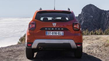 2021 Dacia Duster SUV - rear static