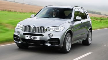 The BMW X5 is a large SUV with rivals including the Range Rover Sport, Volvo XC90, Mercedes GLE and Porsche Cayenne
