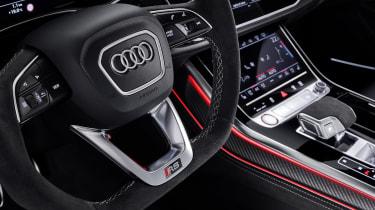 Audi RS Q8 steering wheel