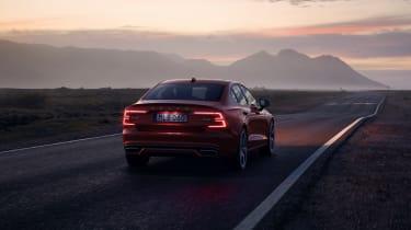 Volvo S60 R-Design LED rear lights