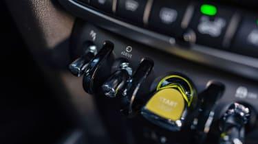 MINI Countryman Plug-in Hybrid start button
