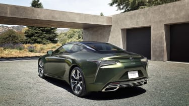 Lexus LC Limited Edition rear