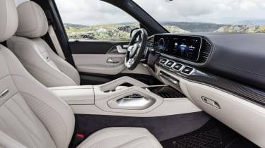 Mercedes-AMG GLE 63 S - interior side on view