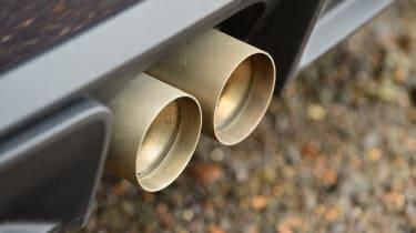 MINI JCW GP - exhaust pipes