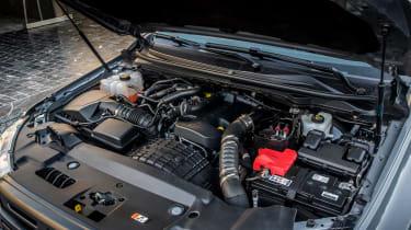 Ford Ranger Raptor pickup engine bay