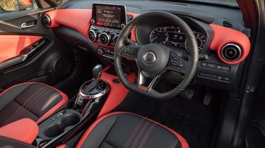 Nissan Juke SUV dashboard