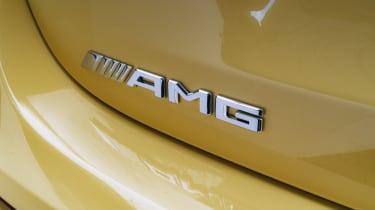 Mercedes-AMG A 45 S hatchback - rear AMG badging