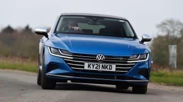 Volkswagen Arteon driving
