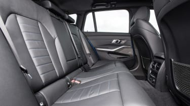 BMW 3 Series Touring rear seats