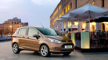 Ford has added strengthening to account for the missing door pillars and it scored five stars in Euro NCAP crash tests