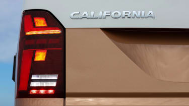 Volkswagen California rear lights