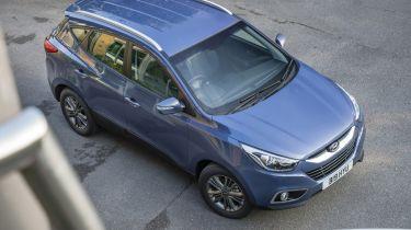 Hyundai ix35 compact SUV 2013 top static