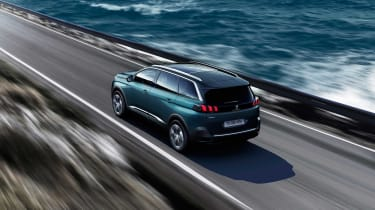 The 5008's long wheelbase should ensure there's plenty of space inside, making it a very practical SUV.