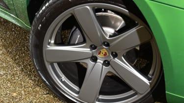 2020 Porsche Macan - wheel detail
