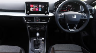 SEAT Tarraco SUV dashboard