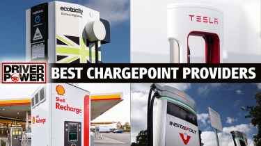 Best chargepoint providers - four-way image