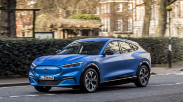 2020 Ford Mustang Mach-E in London - dynamic front 3/4