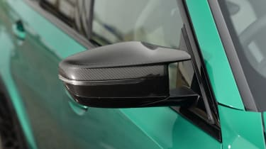 BMW M3 Competition saloon - wing mirror close up