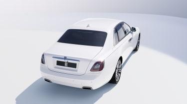 2020 Rolls-Royce Ghost - rear 3/4 static