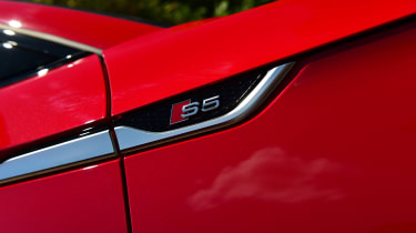 Audi S5 Sportback wing trim