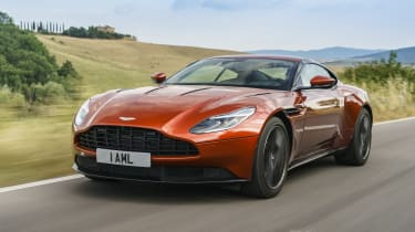 Aston Martin Db11 Coupe Mpg Running Costs Co2 2020 Review Carbuyer