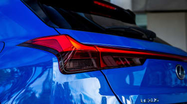 Lexus UX 300e SUV rear lights
