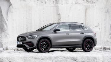 Mercedes GLA - side view