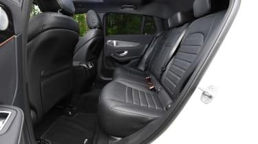 Mercedes EQC SUV rear seats