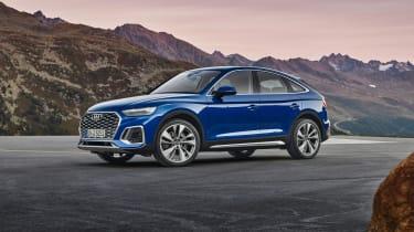 2021 Audi Q5 Sportback - front 3/4 static view