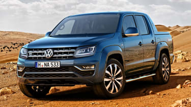 Not surprisingly for a pickup truck, the Amarok is built to withstand a hard working life