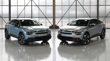 2021 Citroen C4 and e-C4 static