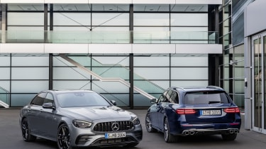 Mercedes-AMG E53 saloon and estate