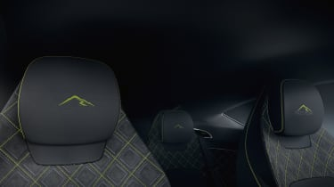 Bentley Continental GT Limited Edition seats