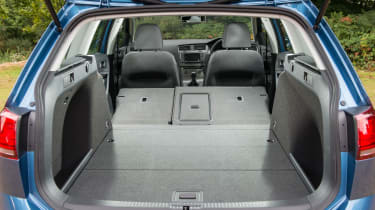 Folding rear seats boost versatility