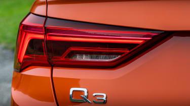 Audi Q3 Sportback SUV rear lights