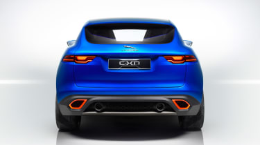 Jaguar C-X17 4x4 concept 2013 rear on