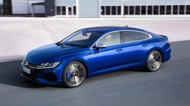 2020 Volkswagen Arteon R hatchback - front 3/4 dynamic