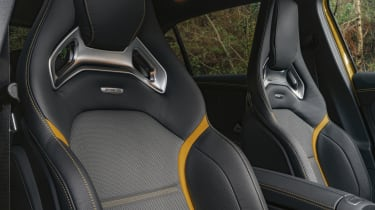 Mercedes-AMG A 45 S hatchback - front seating