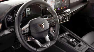 Cupra Formentor SUV steering wheel
