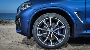 BMW X3 alloy wheel