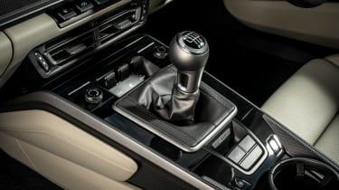 Porsche 911 coupe centre console