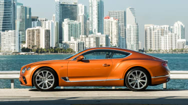 Bentley Continental GT V8 side profile