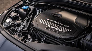 BMW M235i Gran Coupe saloon engine