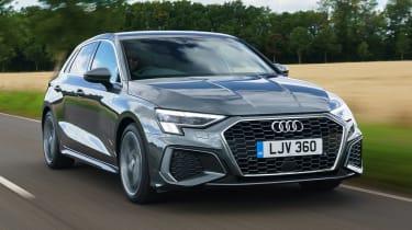 Audi A3 Sportback hatchback front tracking
