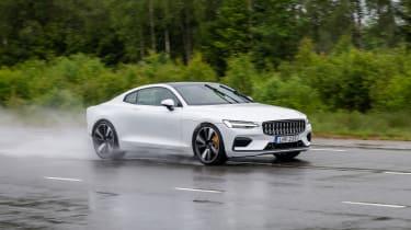 2019 Polestar 1 prototype - front 3/4 dynamic