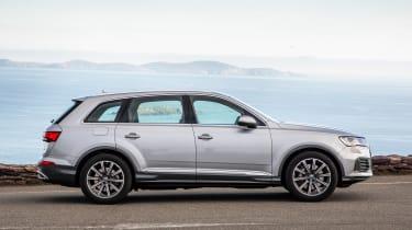 Audi Q7 SUV side static
