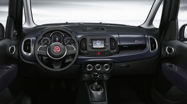 2021 Fiat 500L Cult interior