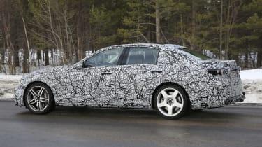 Mercedes-AMG C43 in development - side view