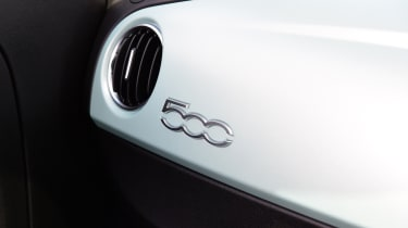 Fiat 500 mild hybrid dashboard